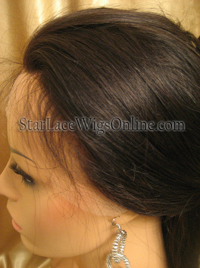Custom Virgin Hair Lace Front Wigs For White Women