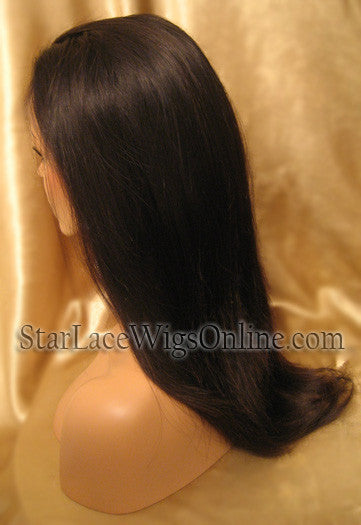 Human Hair Full Lace Wigs For White Women