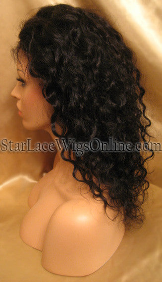 Custom Curly Full Lace Wigs & Hair Extensions