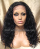 Wavy Custom Human Hair Full Lace Wigs For Black Women