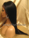 Virgin Hair Lace Front African American Wigs