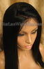 Human Hair Light Yaki African American Wigs