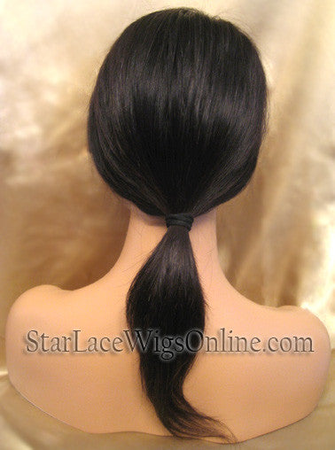 Straight Virgin Hair Full Lace Wigs Sale