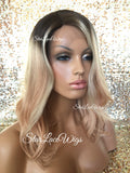 Blonde Human Hair Wigs For White Women
