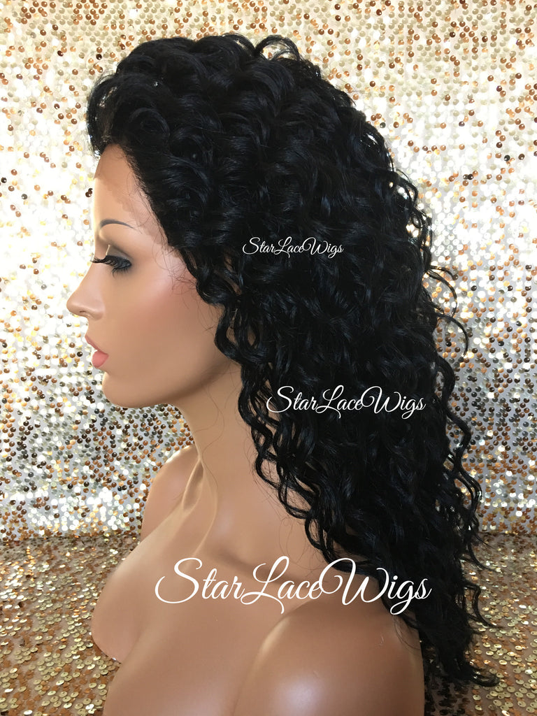 Lace Front Wig Synthetic Wavy - Chyna