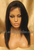 Long Yaki Straight Custom Full Lace Wig