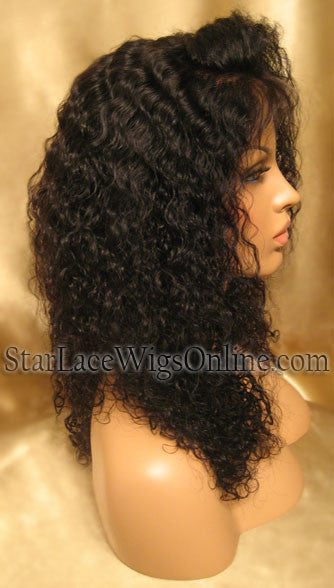 Curly Lace Front Wigs For Black Women