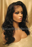 Custom Body Wave Human Hair Full Lace Wig