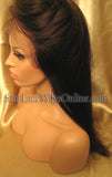 Yaki Straight Custom Lace Front Wigs For Black Women