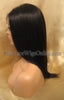 Yaki Straight Indian Remy Cheap Lace Front Wigs