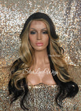 Brown & Honey Blonde Wigs