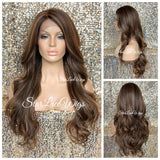Long Loose Curly Layered Synthetic Lace Front Wig - Tessa