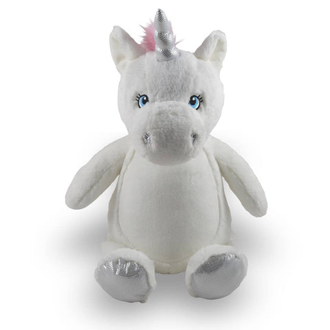 Personalized Unicorn by Little Elska®, Keepsake, embroidery included, Newborn, Baptism or Baby gift