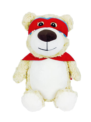 """Baby Cubbies"" ""Cubbyford"" the Hero Bear, a personalized plush stuffed animal keepsake/baby gift"