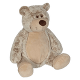 Personalized Benjamin Bear from the Clara Classic Collection by Embroider Buddy®, Keepsake, embroidery included, Newborn, Baptism or Baby gift