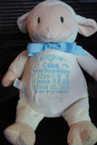 """Baby Cubbies"", Memorial gift, a plush keepsake in remembrance of your ""Angel Baby"" - Celebrate! With Thread"