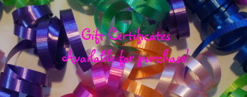 Celebrate! With Thread Gift Certificate