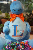 """Baby Cubbies"" Monogrammed keepsake, a personalized plush stuffed animal keepsake/baby gift - Celebrate! With Thread"