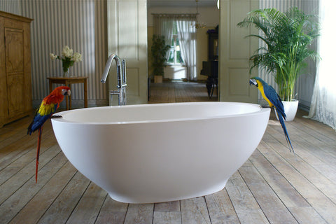 aquatica karolina solid stone surface bathtub fine matte bathtub gorgeous tub
