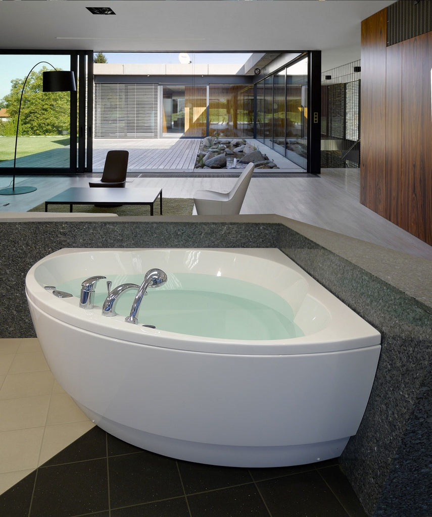 Aquatica Cleopatra Two Person Rounded Corner Soaking Tub Gorgeous Tubs