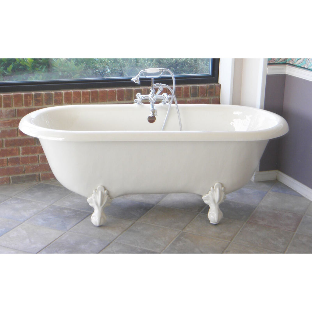 Attrayant ... Two Person Roll Top Clawfoot Bathtub. Previous; Next
