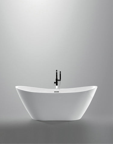 deep freestanding soaking tub.  Tub Legion Beverly Extra Deep 71 Freestanding Couples Soaking