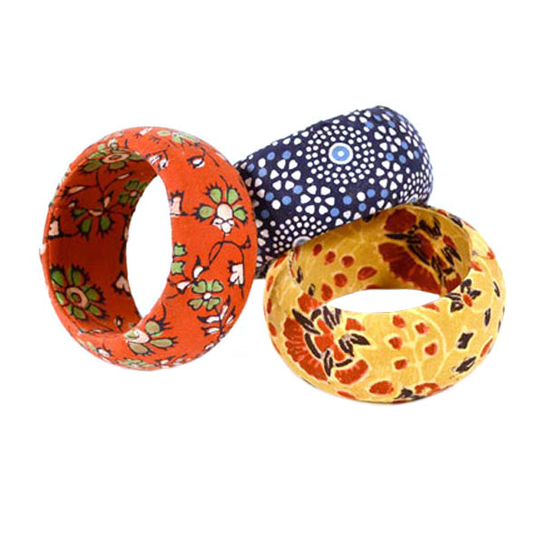 Wide Melange Bangle
