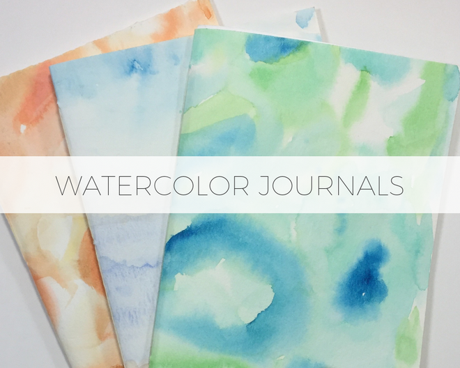 Watercolor Journals