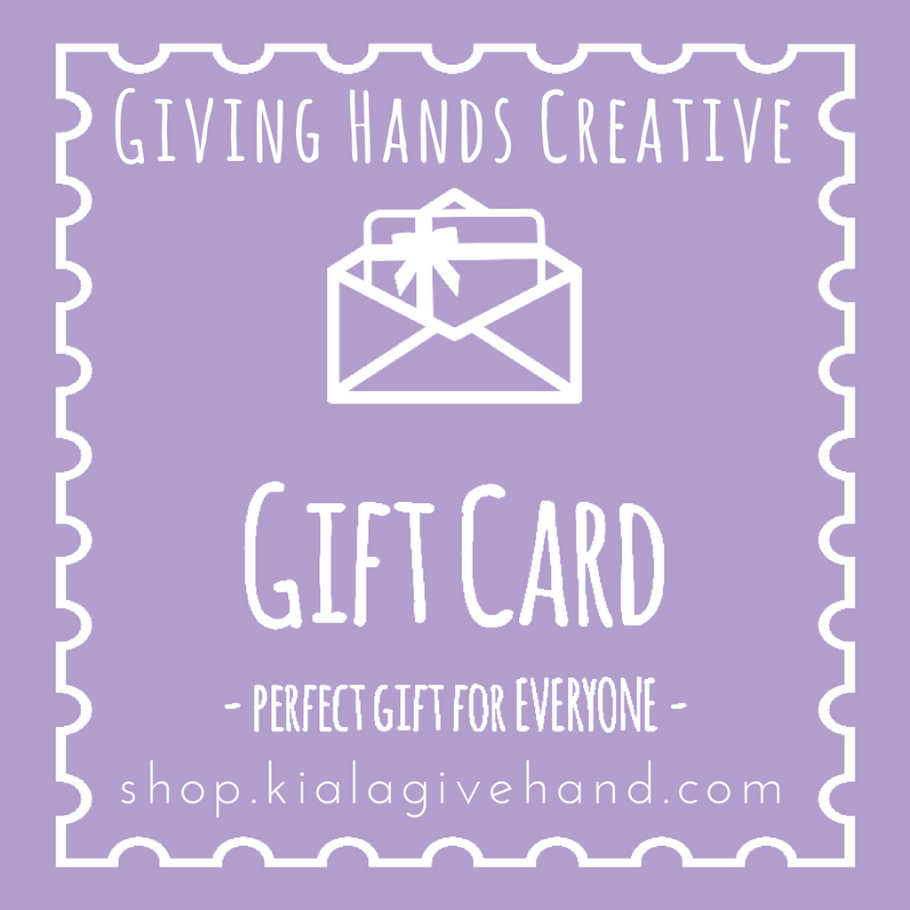 Gift Card - Shop with Kiala Givehand