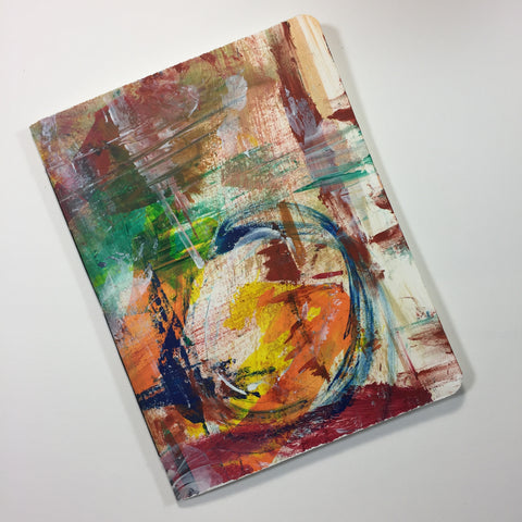 Rounded Static Watercolor Journal