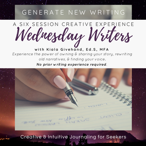Wednesday Writers with Kiala