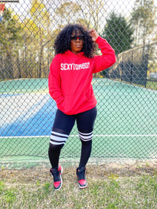 """Sexy Tomboy-Red"" Hoodie"