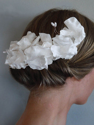Couture Headpieces Silk Flowers - Bridal | Fashion | Purdy in Bloom, handmade in Australia
