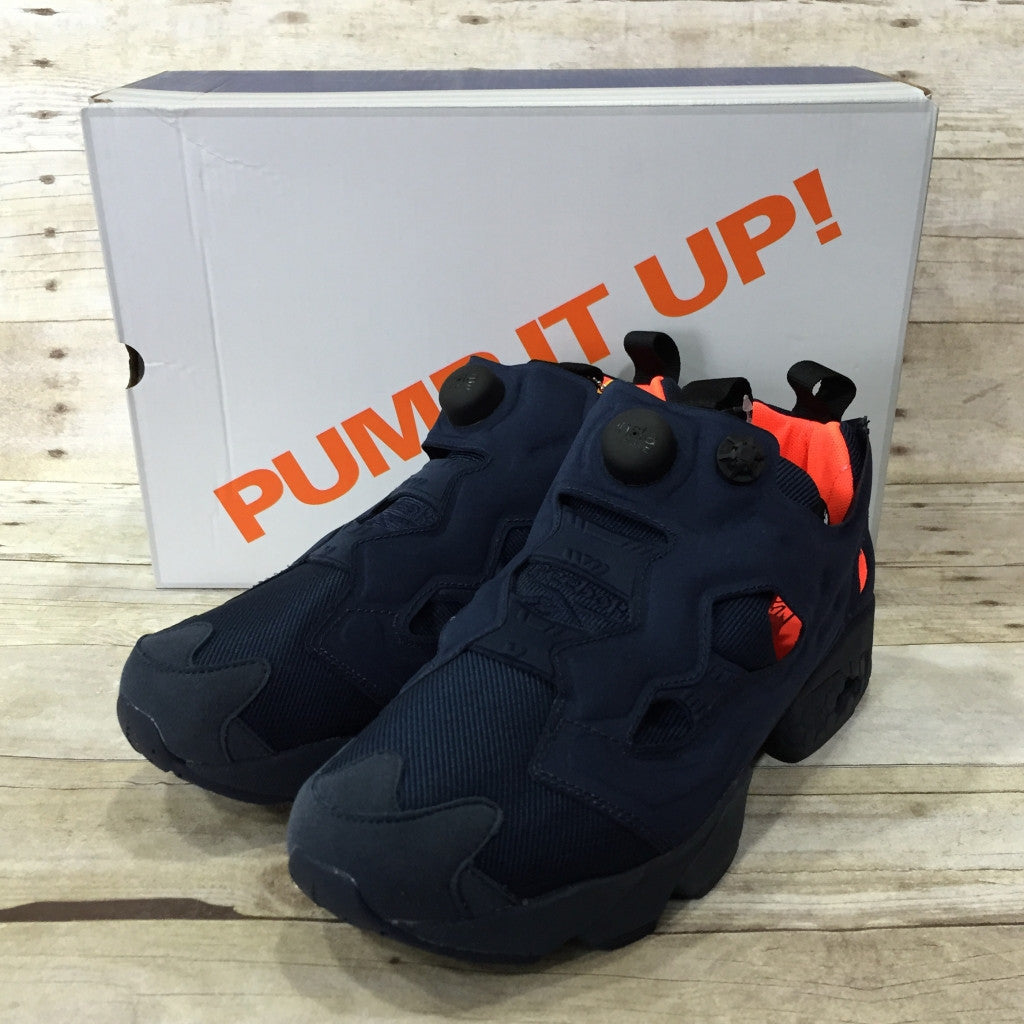 8a94b7fbc2a0 Reebok Instapump Fury Tech - V63499 (Coll Navy   Solar Orange   White)