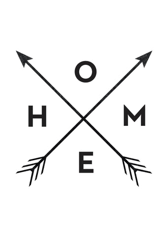 home and arrows � hustle living
