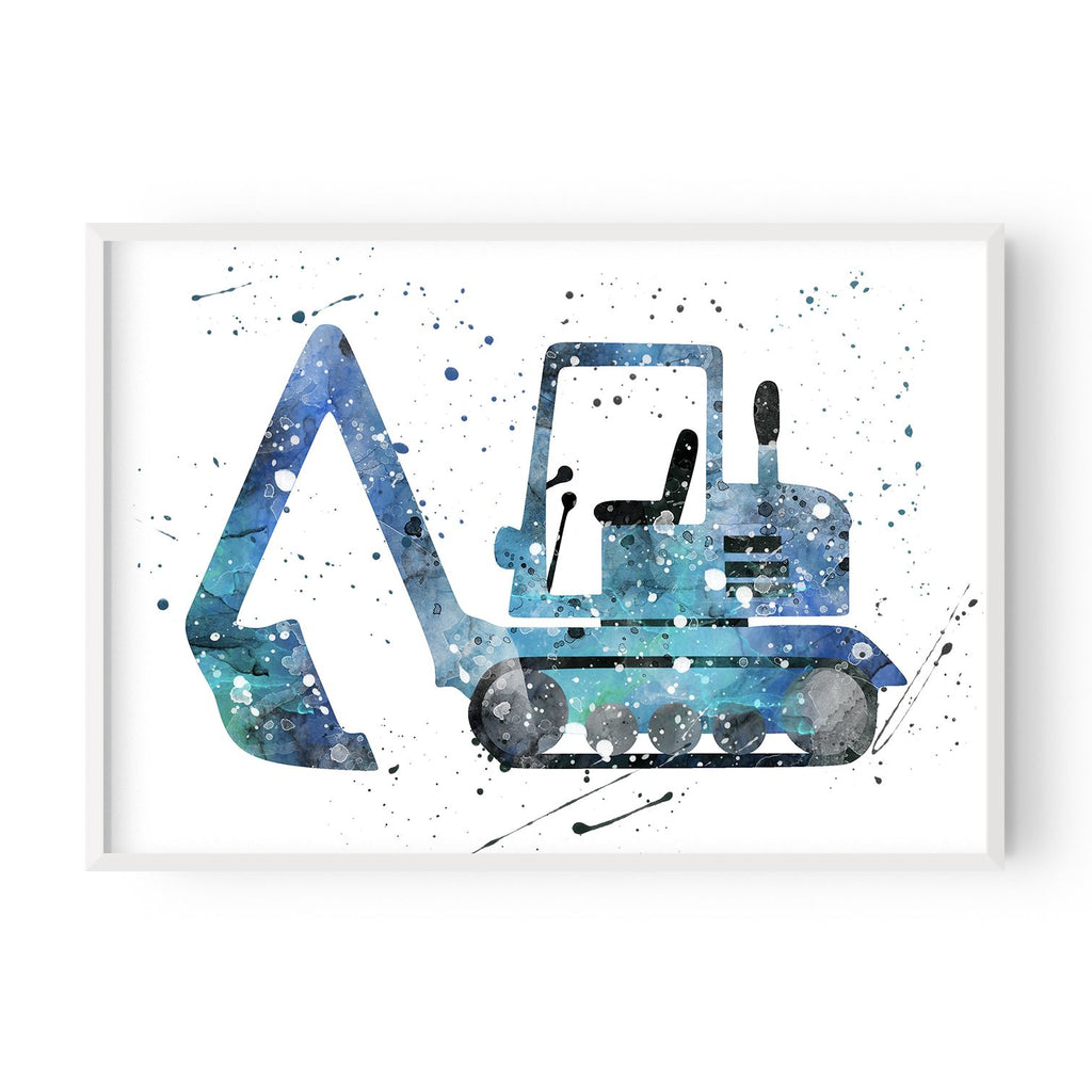 Excavator - Blue - Hustle Living