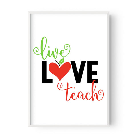 Live Love Teach - Hustle Living