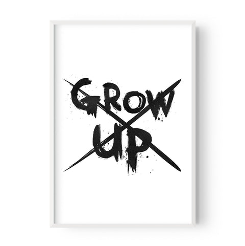 Never grow up - Hustle Living