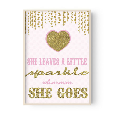 She leaves a sparkle - Hustle Living