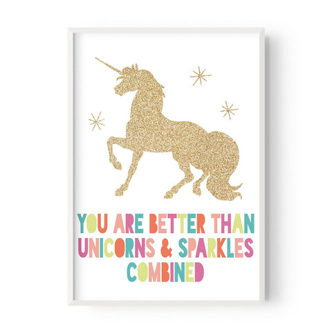 Unicorns and sparkles - Hustle Living