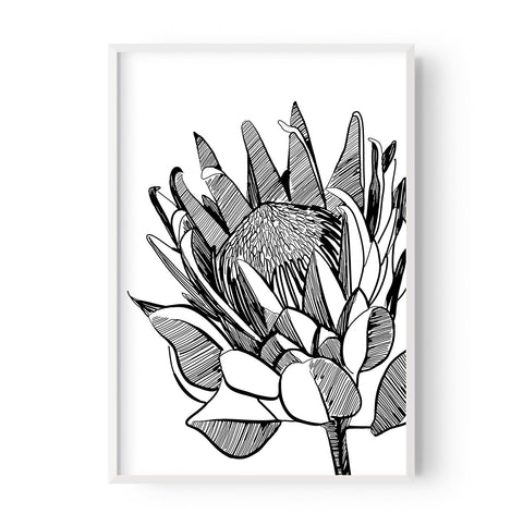 Protea Bloom (left or right) - Hustle Living