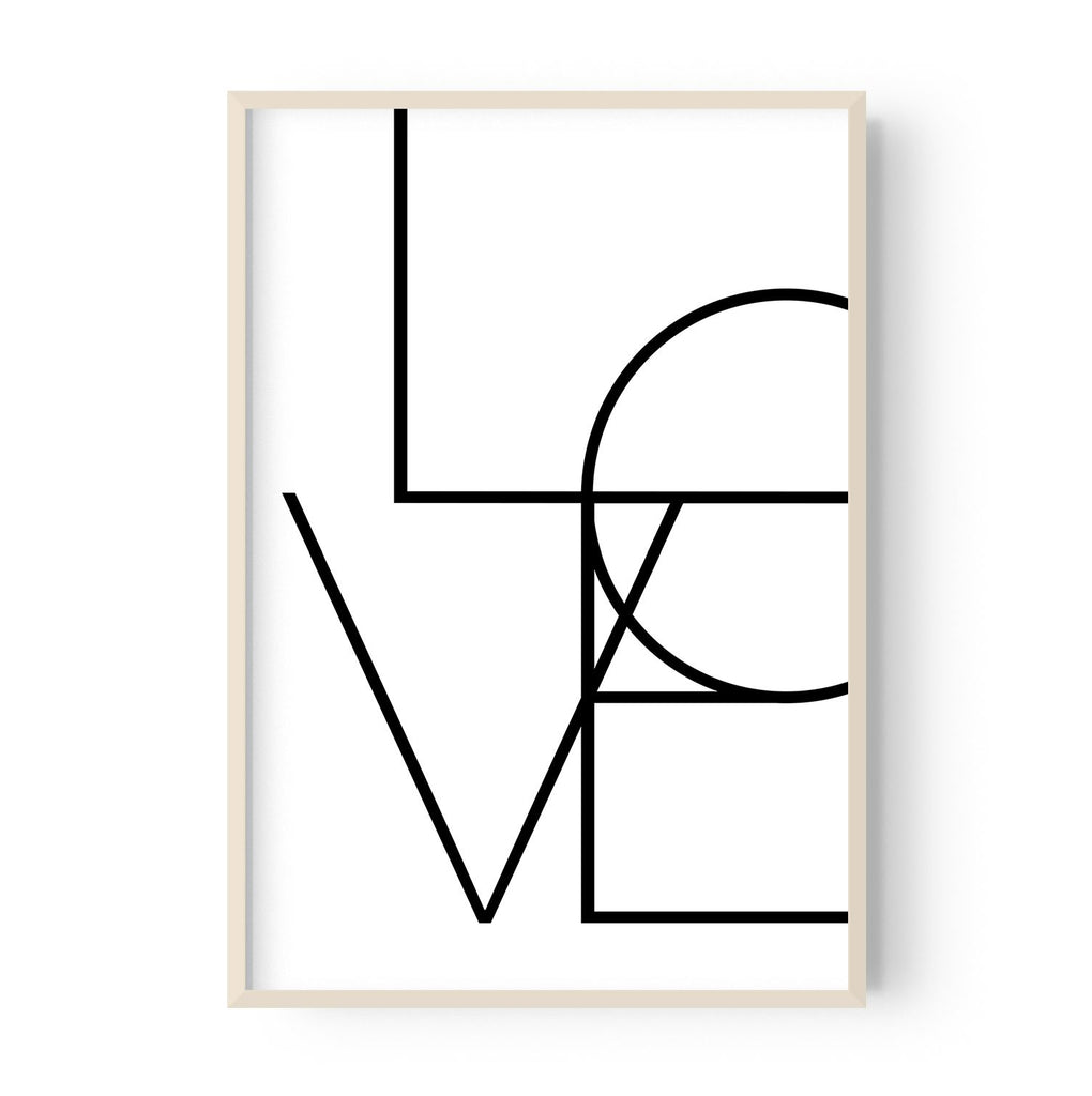 Vertical Love (4 colours) - Hustle Living