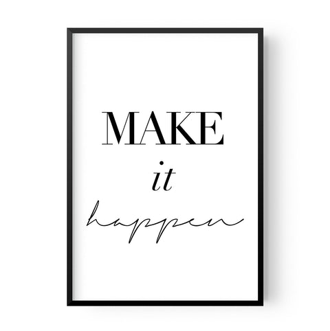 Make it happen - Hustle Living