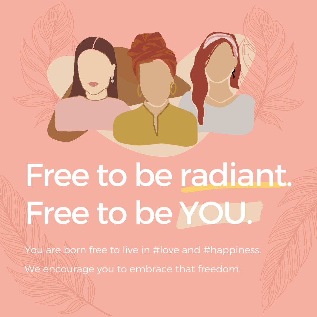 Free to be radiant. Free to be YOU. | Independence Day 2020