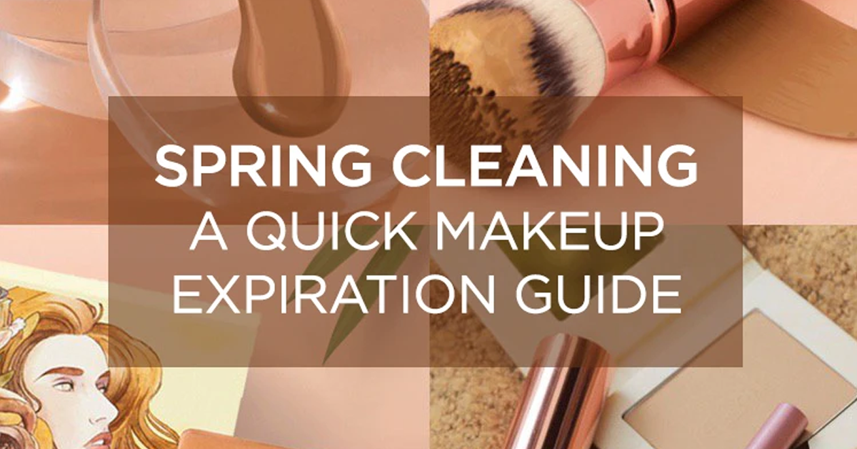 SPRING CLEANING: A Quick Makeup Expiration Guide