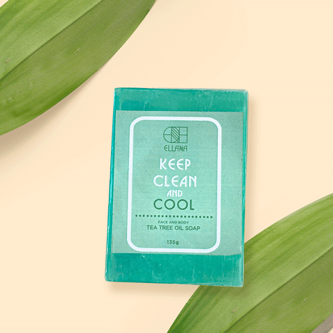 Ellana Keep Clean and Calm tea tree soap