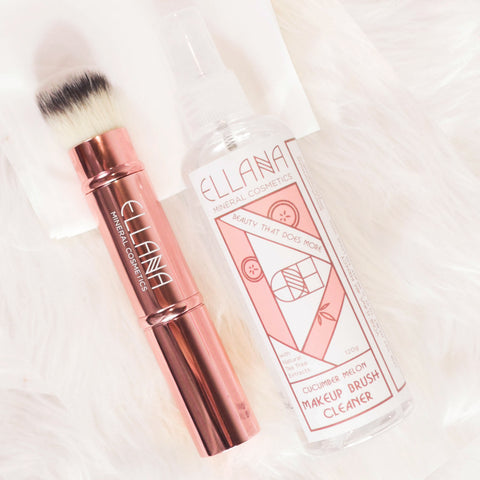 Ellana Mineral Cosmetics - Instant Dry Makeup Brush Cleaner and Makeup Sanitizer