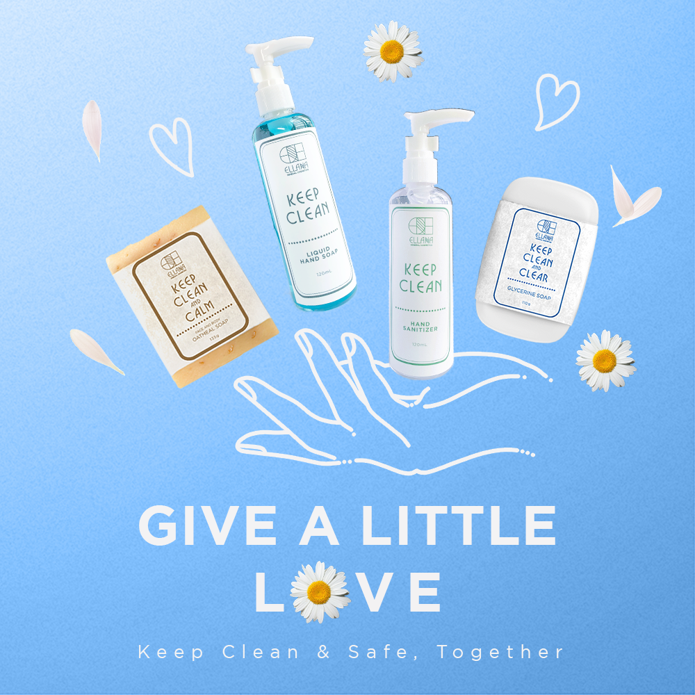 Purchase our Give A Little Love bundle, which contains 2 sets of Ellana Essentials. One set is for you - the other will be donated to a delivery hero!