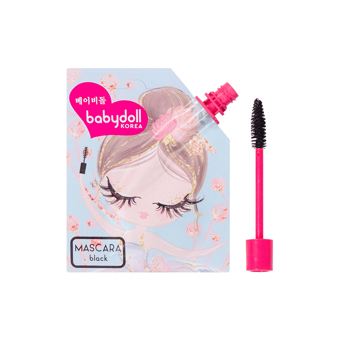 Babydoll Volume and Curl Mascara Black