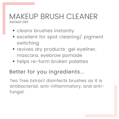 Instant Dry Makeup Brush Cleaner